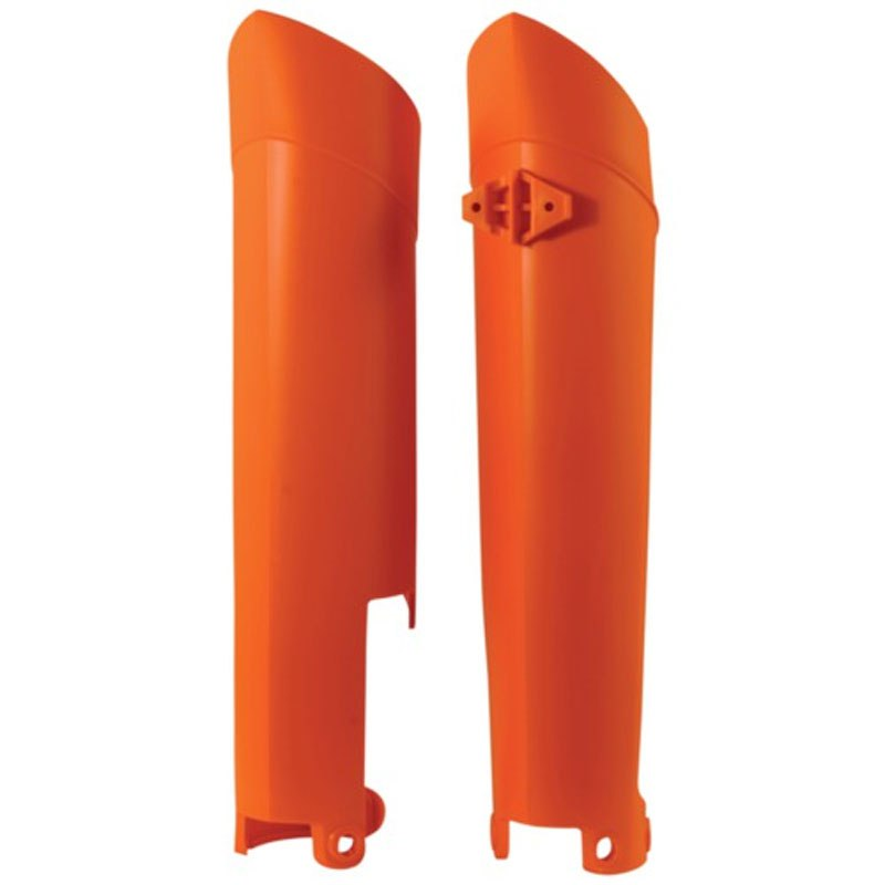Protections de fourche Acerbis orange