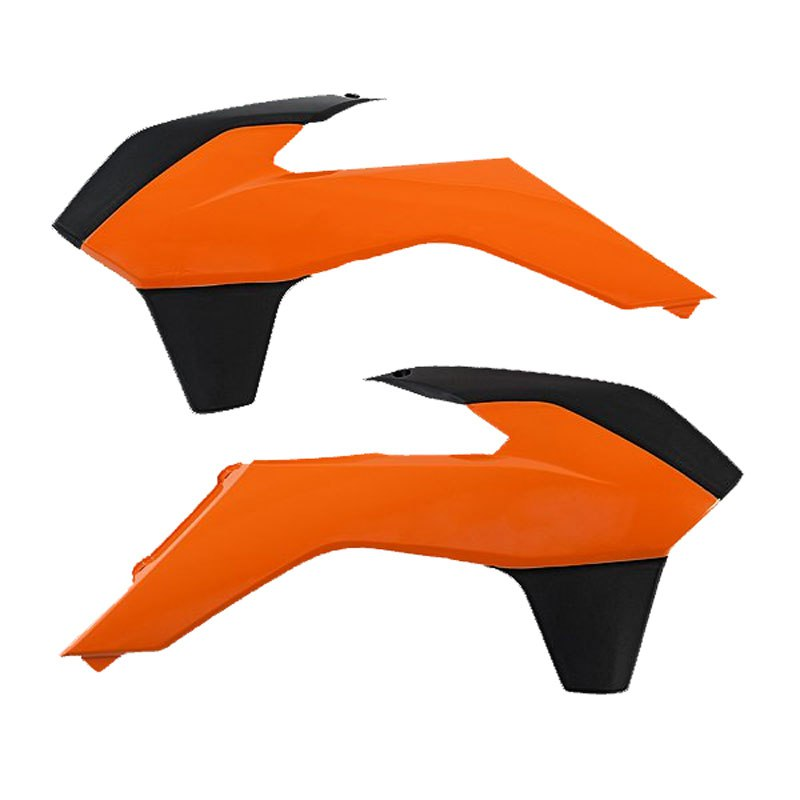 Ouie De Radiateur Acerbis Orange/noir