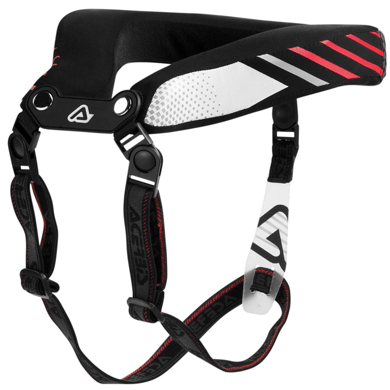 Protection cervicale Acerbis STABILIZING COLLAR 2.0 BLACK RED 2020