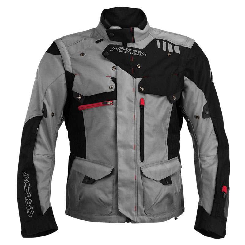 Veste enduro Acerbis ADVENTURE BLACK GREY 2020
