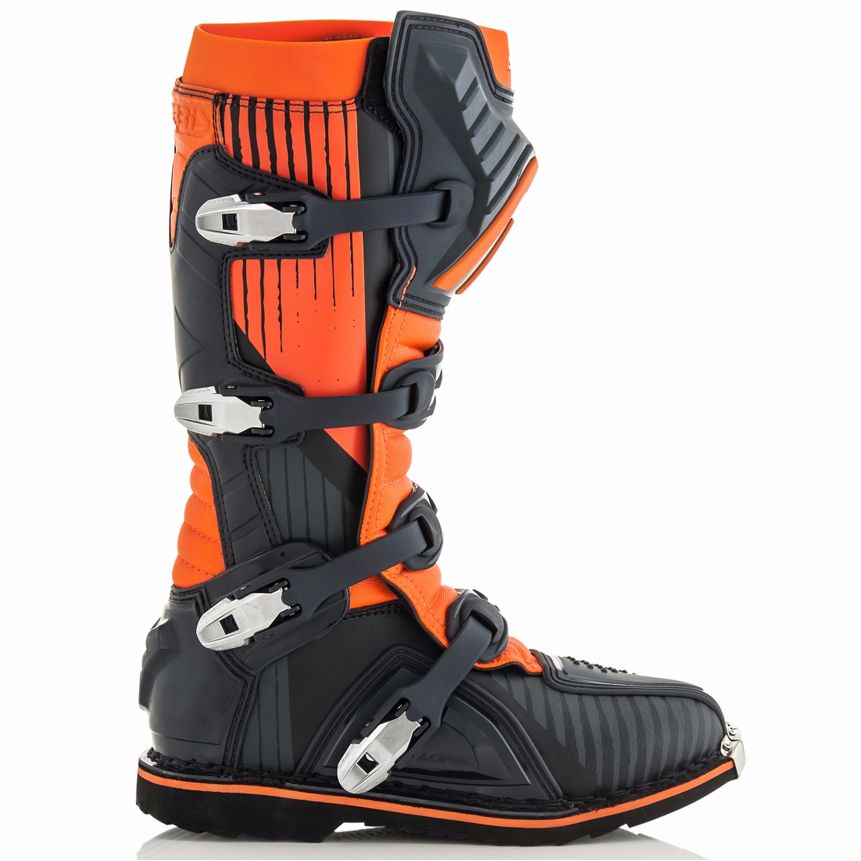 Bottes cross Acerbis X-PRO V BLACK ORANGE 2020