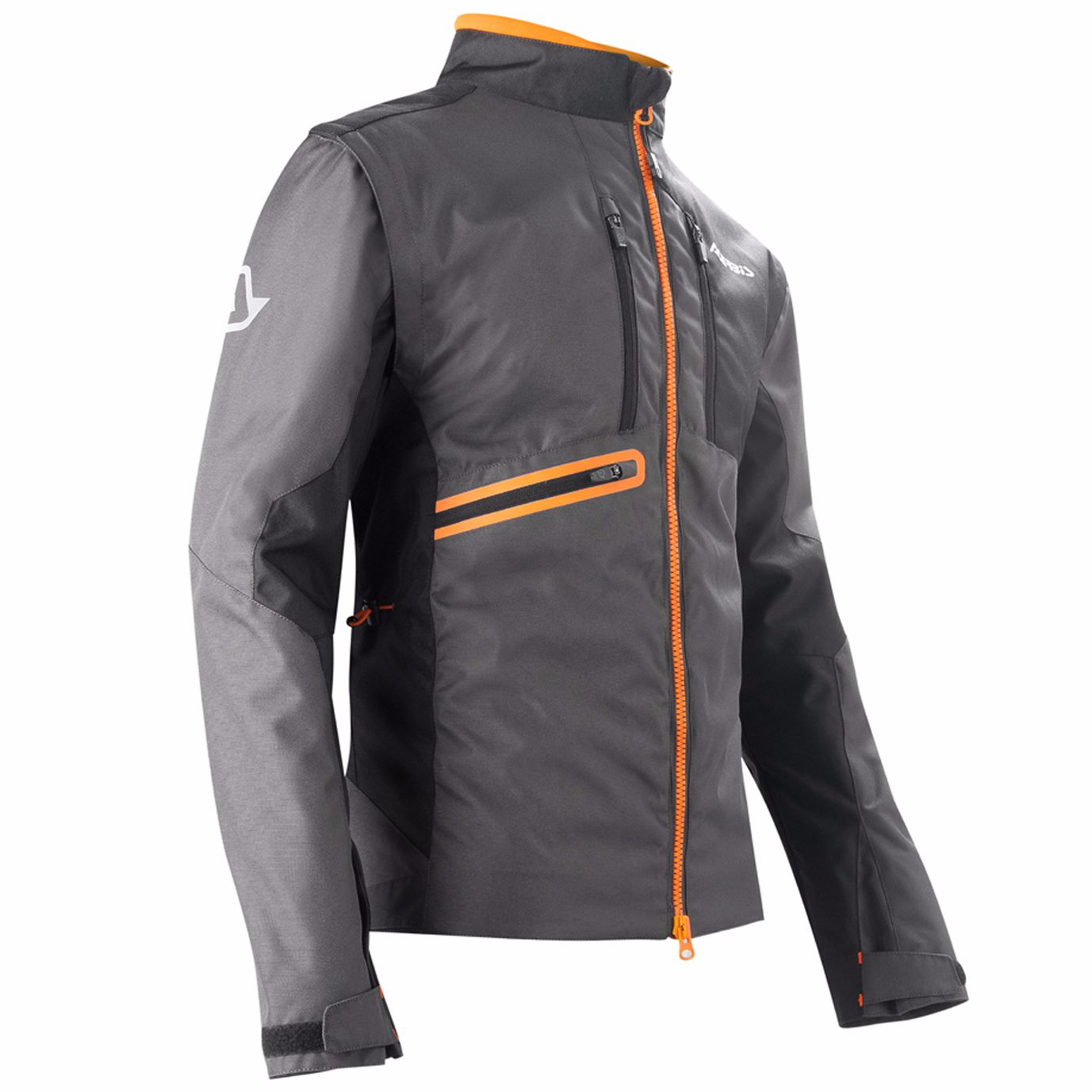 Veste enduro Acerbis ENDURO ONE BLACK FLUO ORANGE 2020