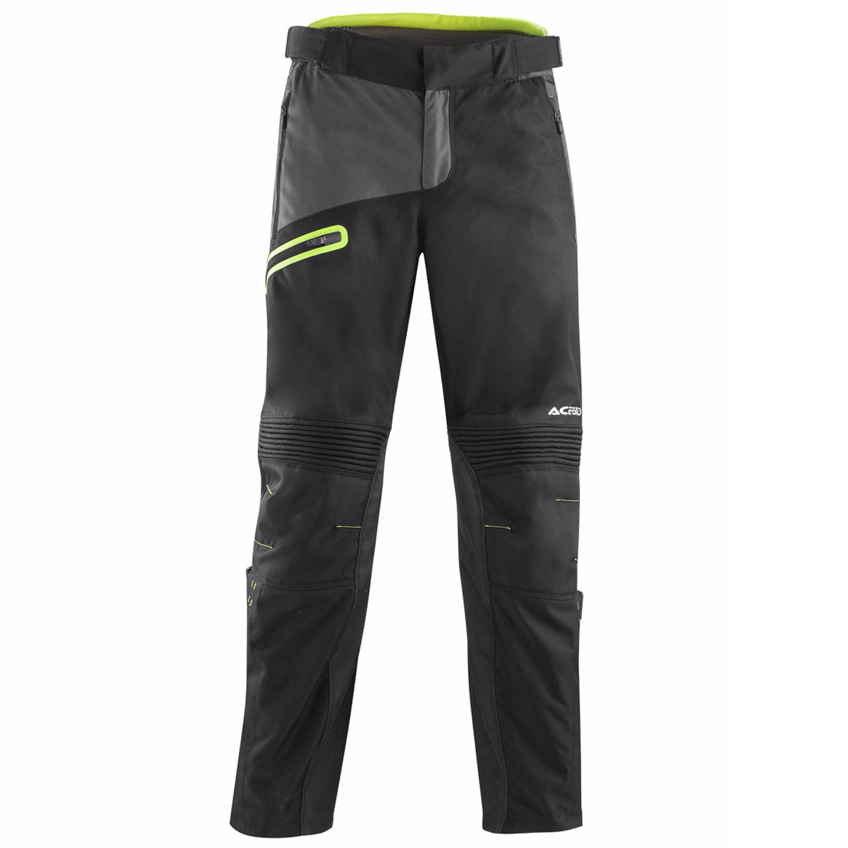Pantalon Cross Acerbis Enduro One - Noir Jaune Fluo -