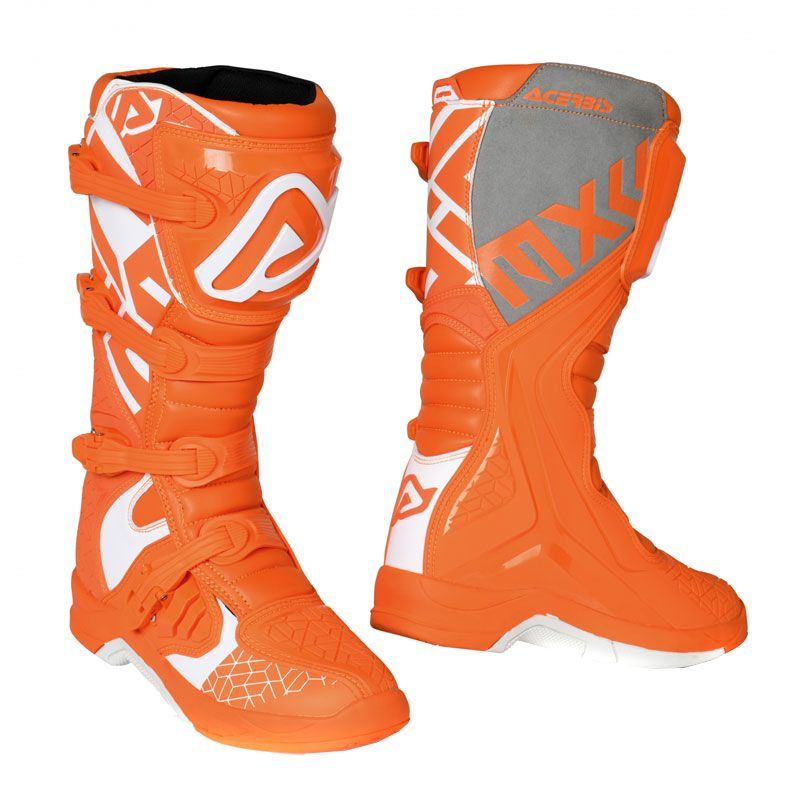 Bottes cross Acerbis X-TEAM ORANGE WHITE 2020