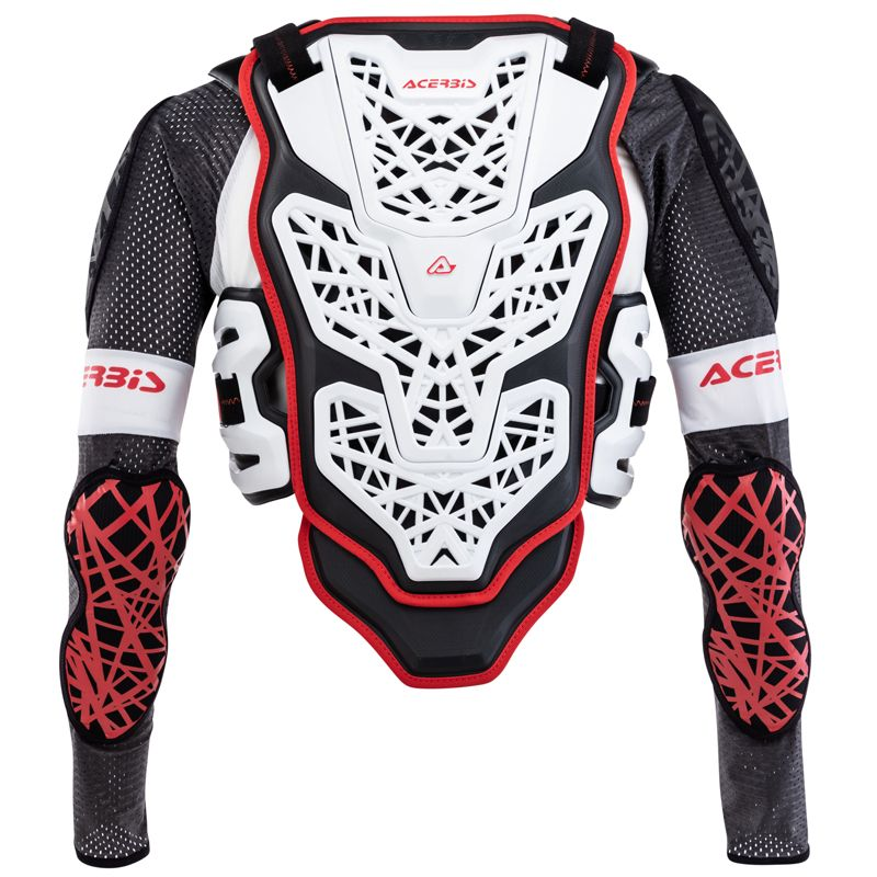 Gilet de protection Acerbis GALAXY WHITE BLACK 2020
