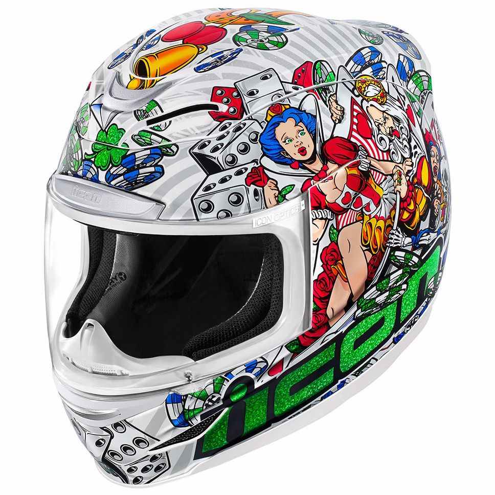 Casque Icon AIRMADA - LUCKY LID 2