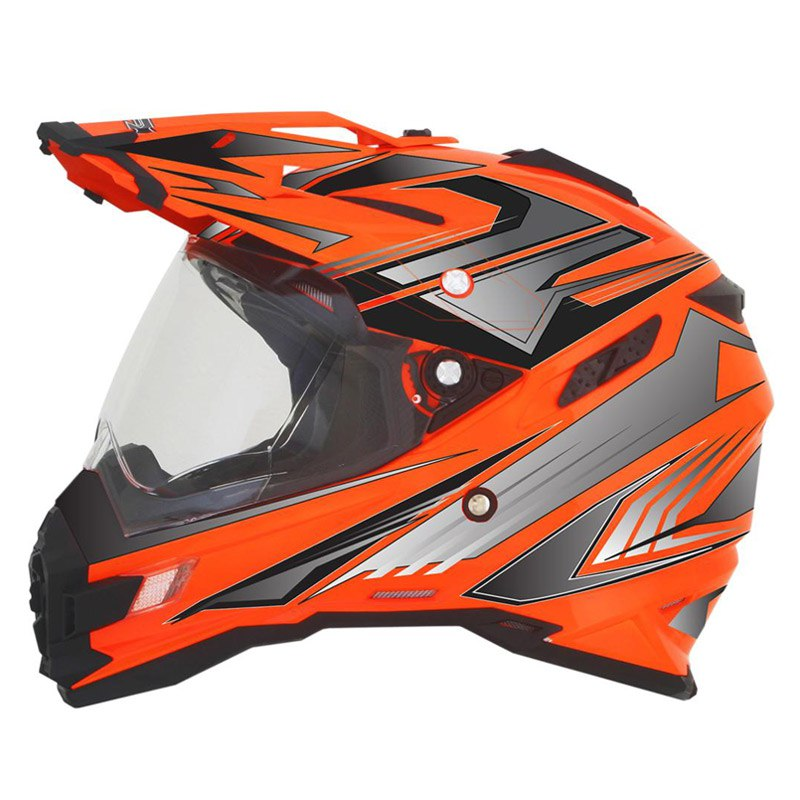 Casque Afx Fx41ds Multi Safety Orange