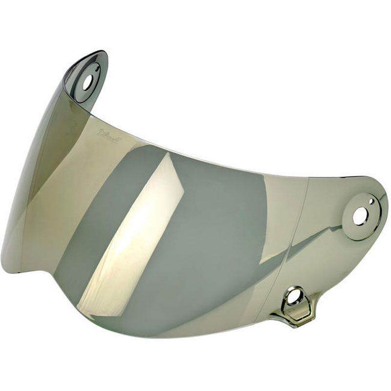 Ecran Casque Biltwell Inc Lane Splitter Gold Miroir