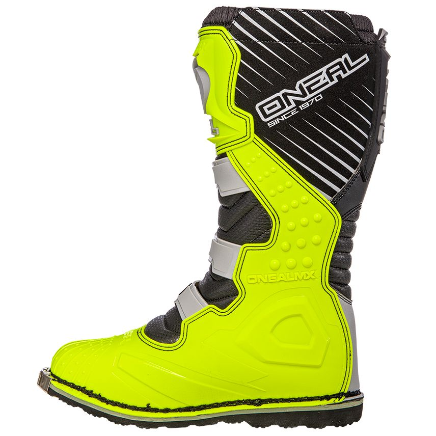Bottes cross O'Neal RIDER - GRAY NEON YELLOW 2019