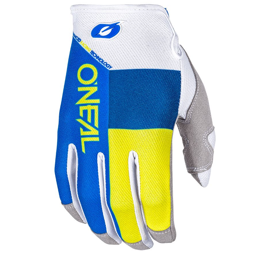 Gants cross O'Neal MAYHEM SPLIT - BLEU JAUNE -  2018