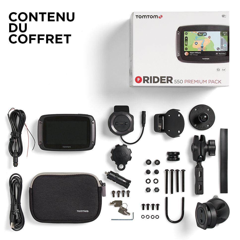 GPS TomTom Rider 550 Premium