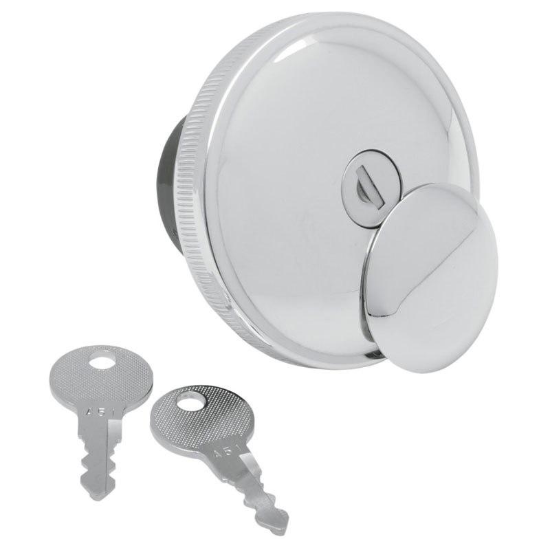 Bouchon De Réservoir Drag Specialties Screw In Locking Non Ventilé