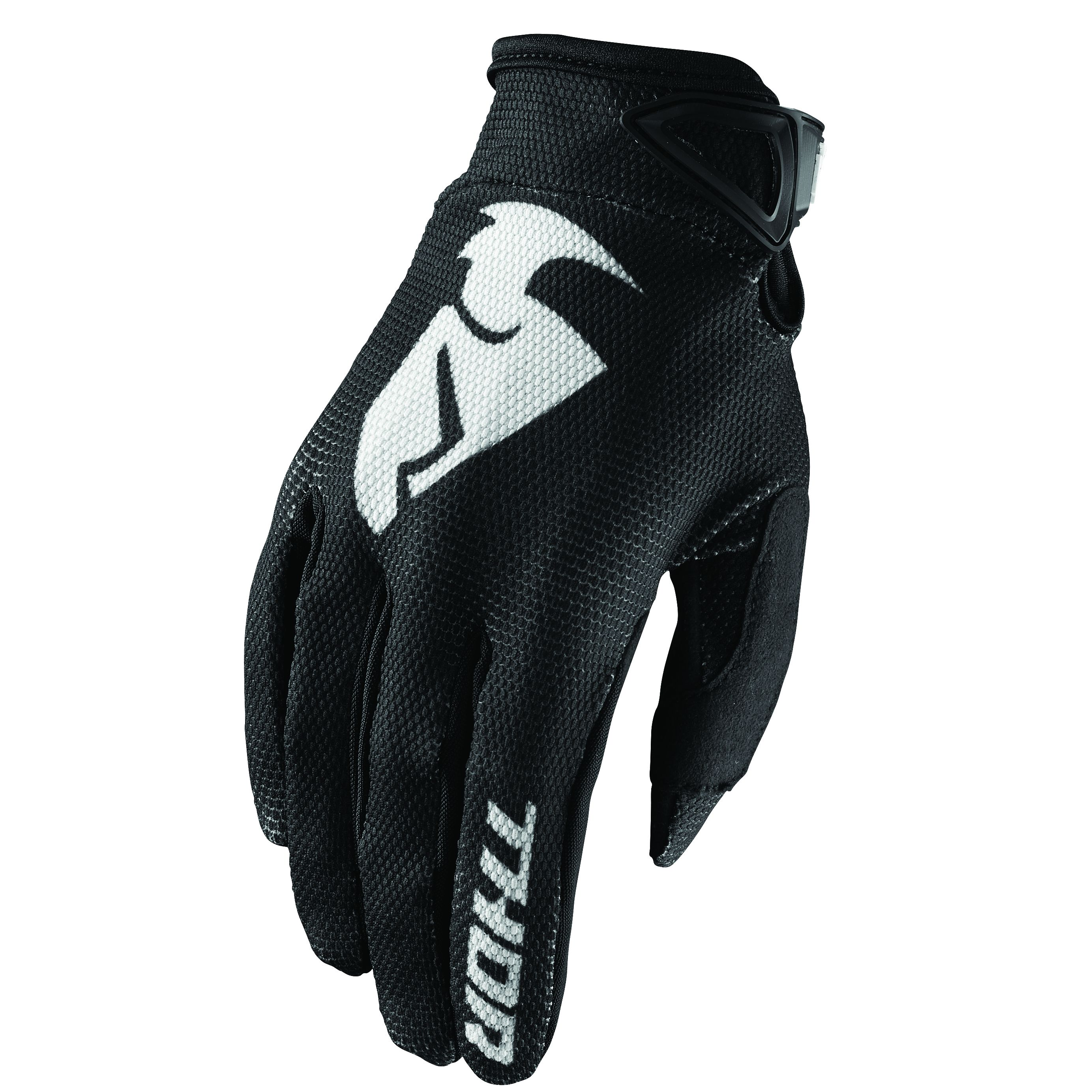 Gants cross Thor SECTOR BLACK 2019