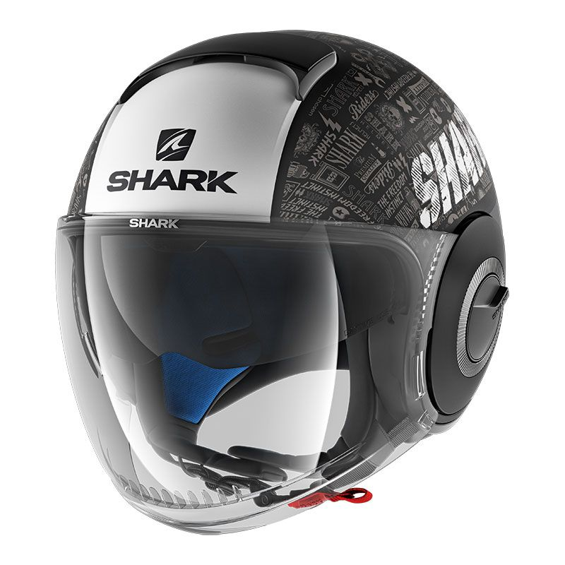 casque shark nano tribute rm mat casque jet. Black Bedroom Furniture Sets. Home Design Ideas