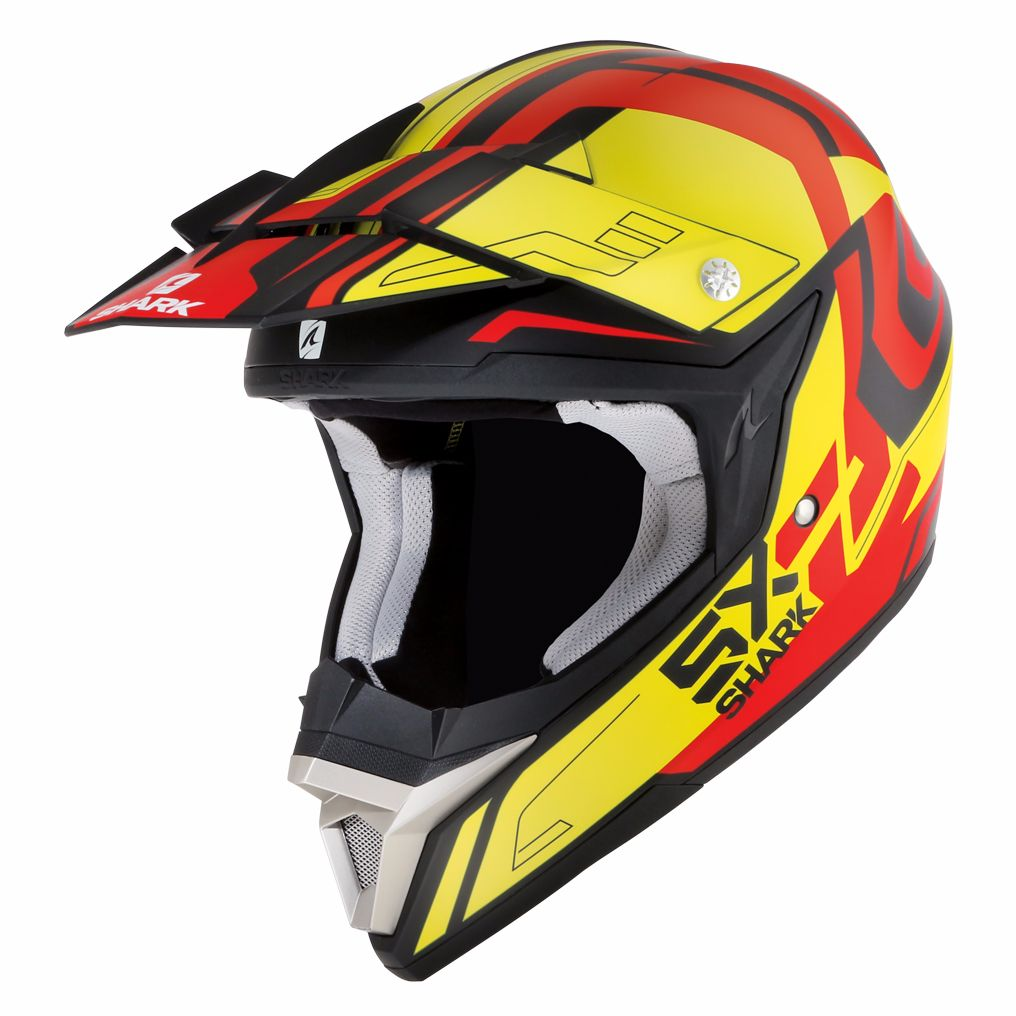 Casque Cross Shark Sx 2 Bhauw Kyr