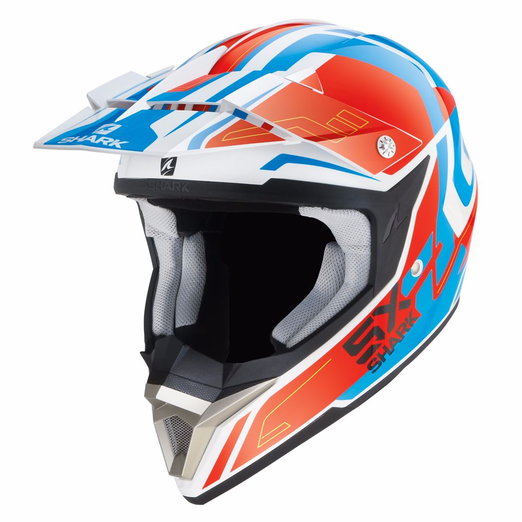 Casque Cross Shark Sx 2 Bhauw Wrb