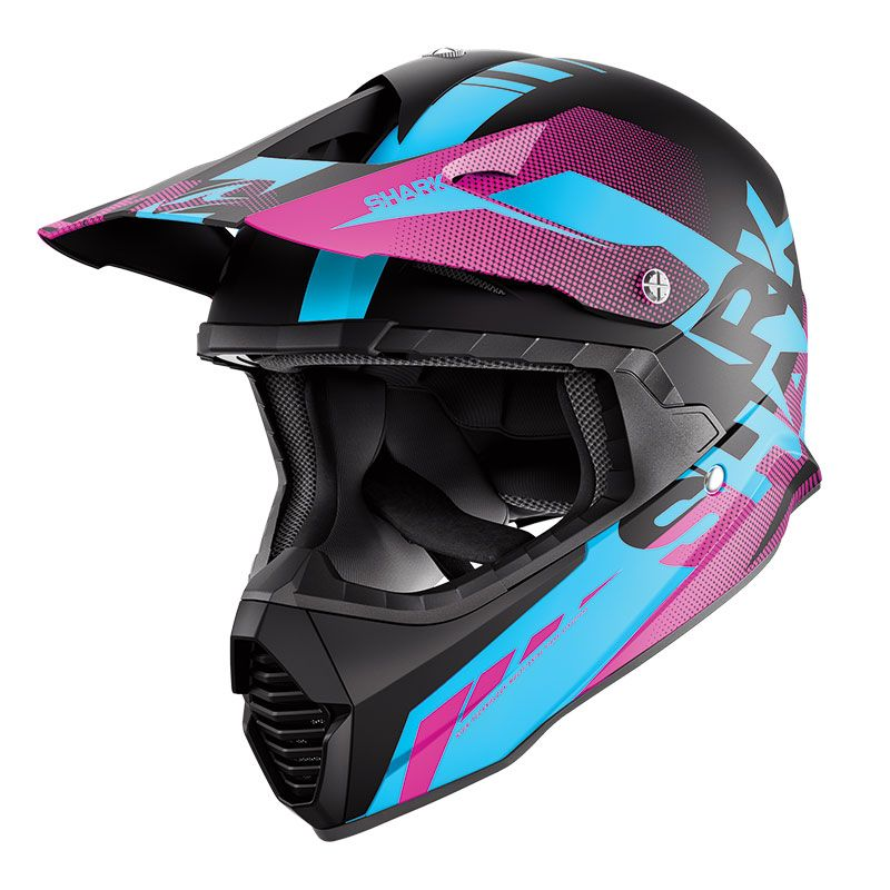 Casque Cross Shark Varial Anger Kbv