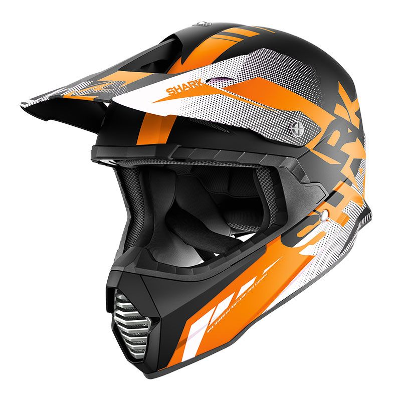 Casque Cross Shark Varial Anger Kow