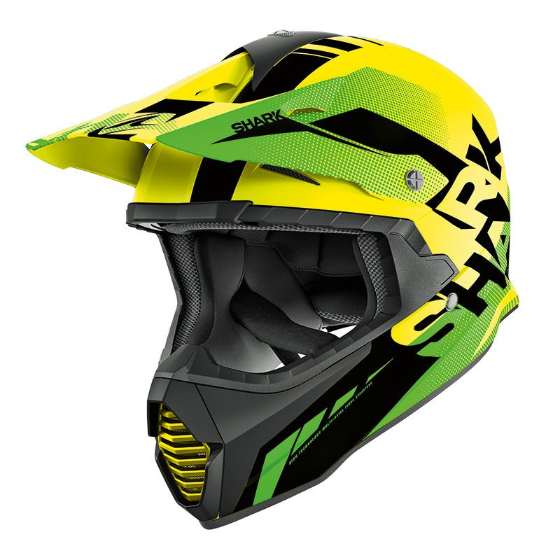 Casque Cross Shark Varial Anger Ykg