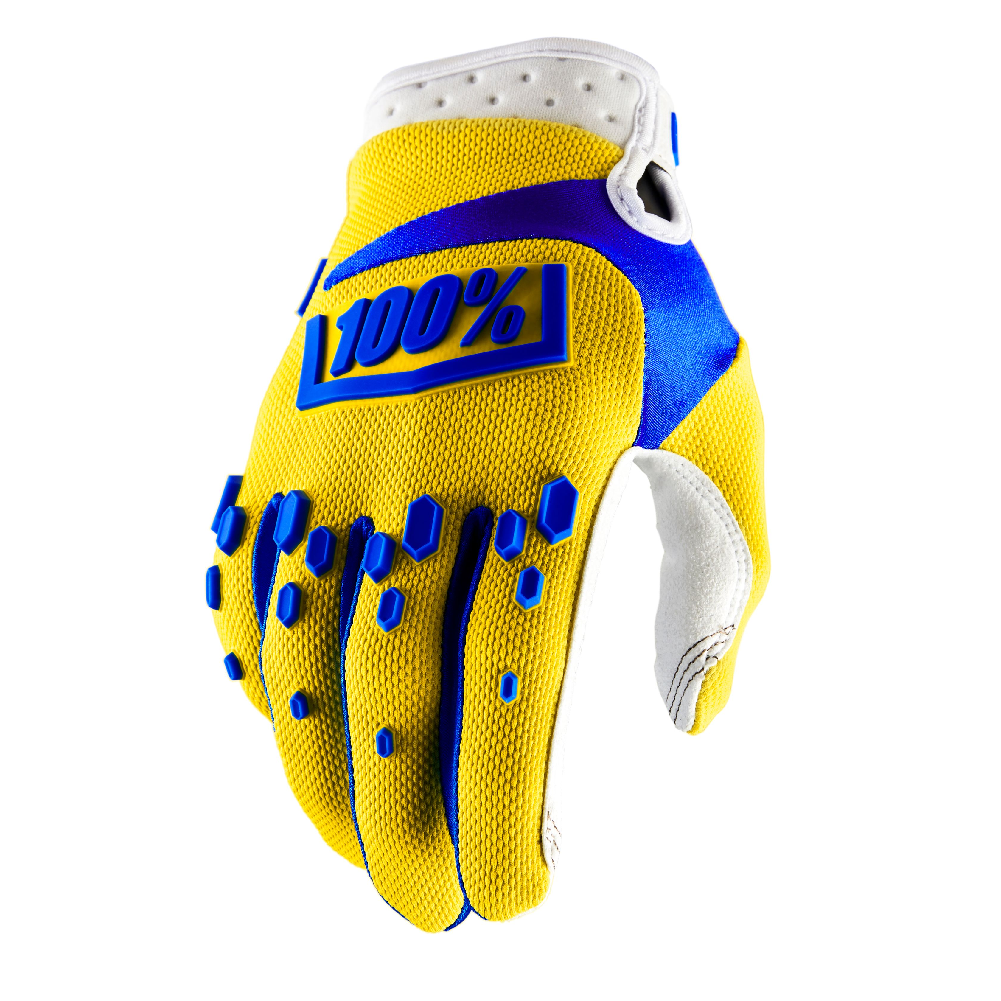 Gants Cross 100% Airmatic - Jaune Enfant