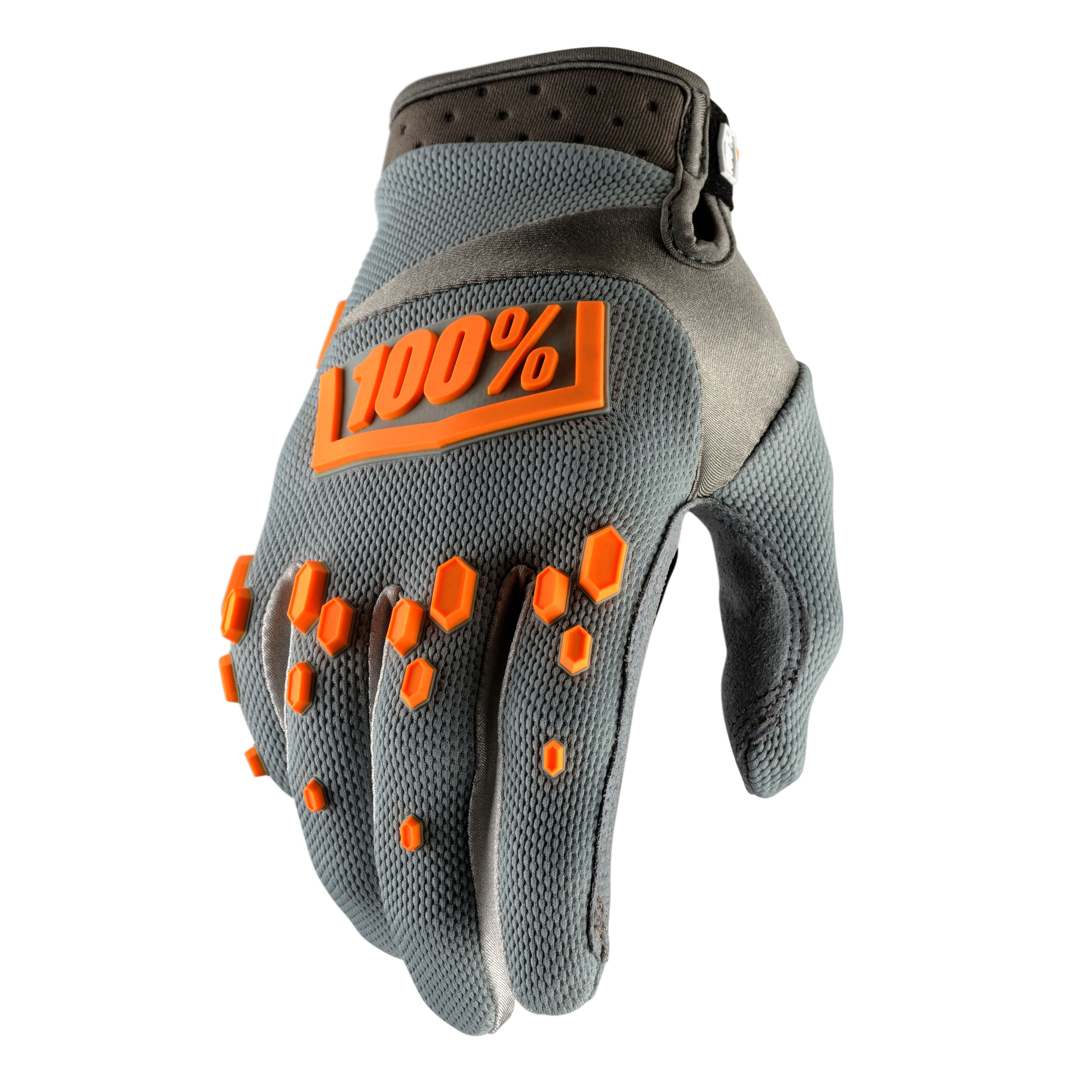 Gants Cross 100% Airmatic - Gris