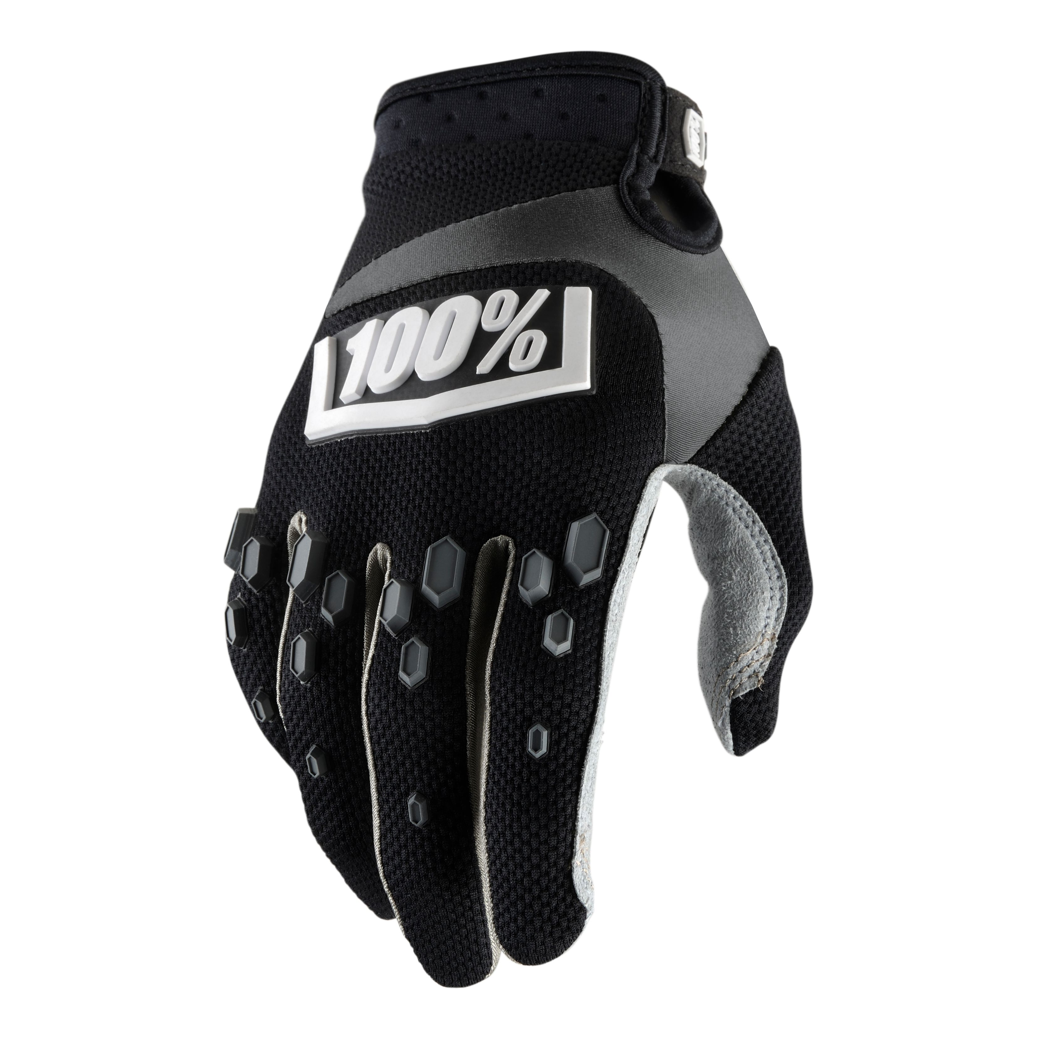 Gants Cross 100% Airmatic - Noir