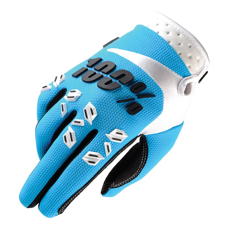 Gants Cross 100% Airmatic - Bleu -