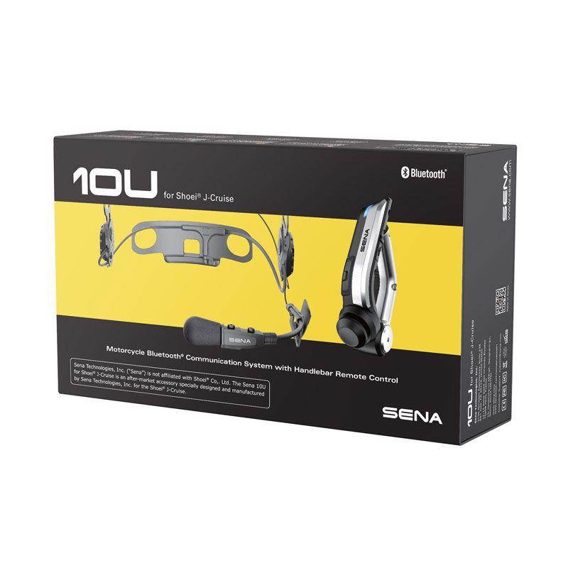 kit mains libres sena 10u pour shoei jet cruise accessoires casque. Black Bedroom Furniture Sets. Home Design Ideas