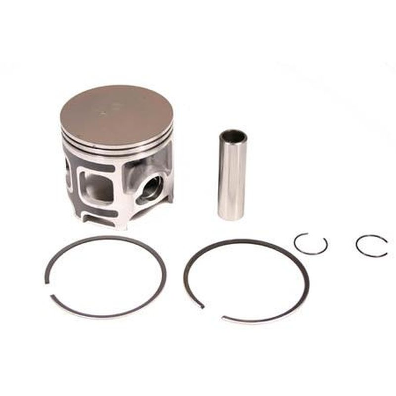 Kit piston Tecnium Complet forgé Surcote +0.50 mm