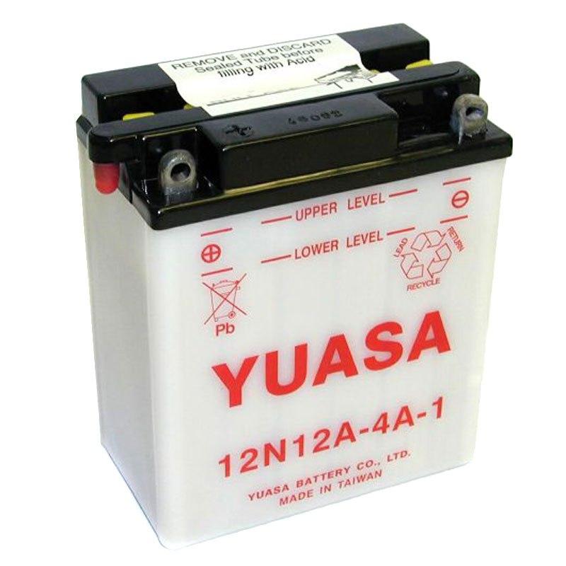 batterie yuasa 12n12a 4a 1 ouvert sans acide type acide batteries. Black Bedroom Furniture Sets. Home Design Ideas