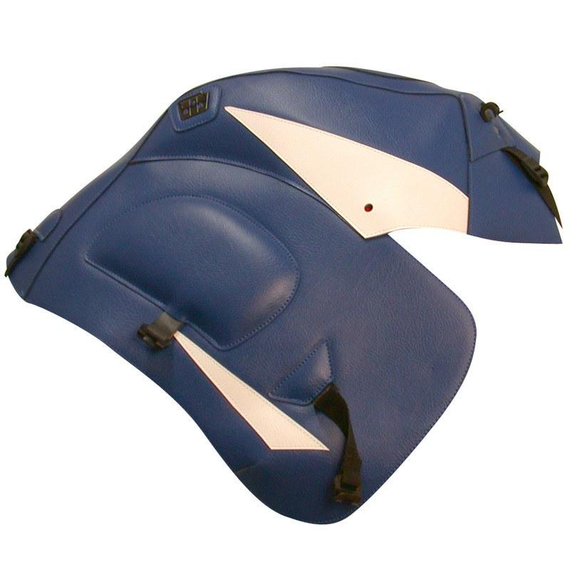 Protège-réservoirs Bagster Bleu/pointe Blanche