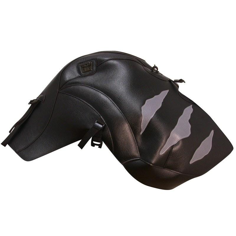 Protège-réservoirs Bagster Noir/déco Acier