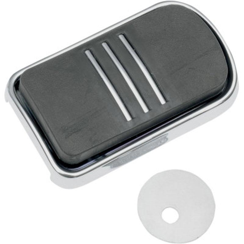 Protection Drag Specialties Pour Pedale De Frein Chrome