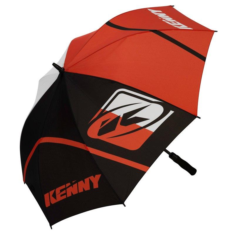 Parapluie Kenny Orange Noir