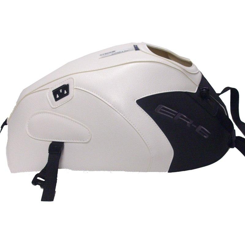 Protège-réservoirs Bagster Blanc/noir Mat