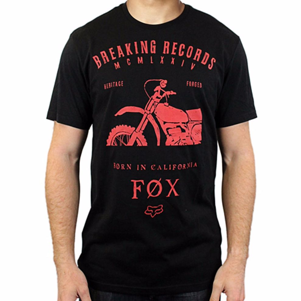 T-shirt Manches Courtes Fox Boxed Out