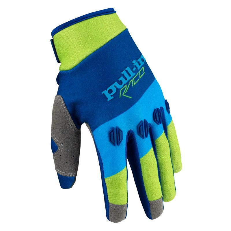 Gants Cross Pull-in Fighter Bleu Vert