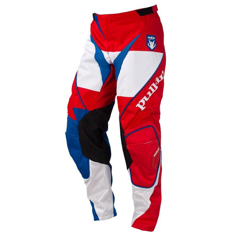 Pantalon Cross Pull-in Fighter Bleu Blanc Rouge
