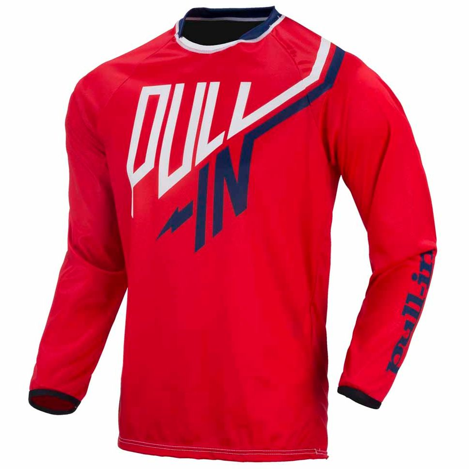 Maillot cross Pull-in destockage CHALLENGER - ROUGE - 2017