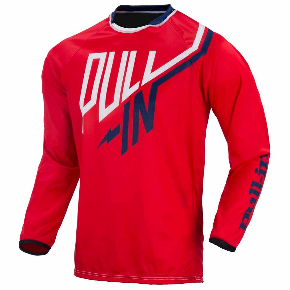 Maillot Cross Pull-in Challenger Junior - Rouge -