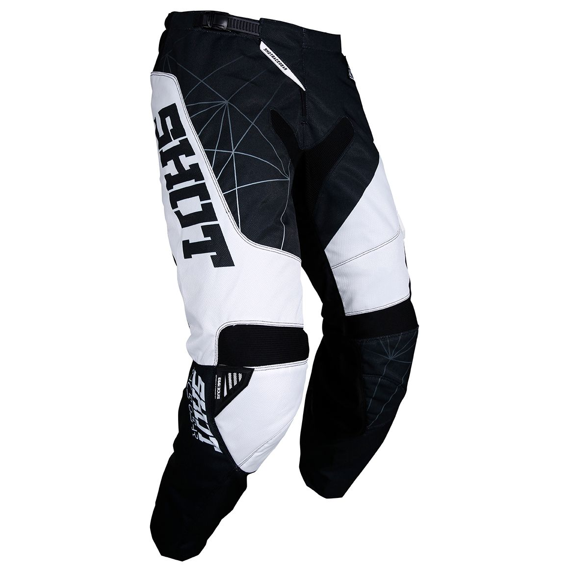 Pantalon cross Shot CONTACT INFINITE BLACK WHITE 2018