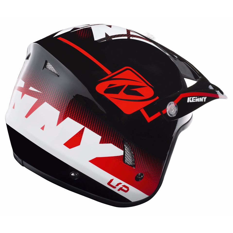 Casque trial Kenny TRIAL UP - ROUGE NOIR BLANC 2019