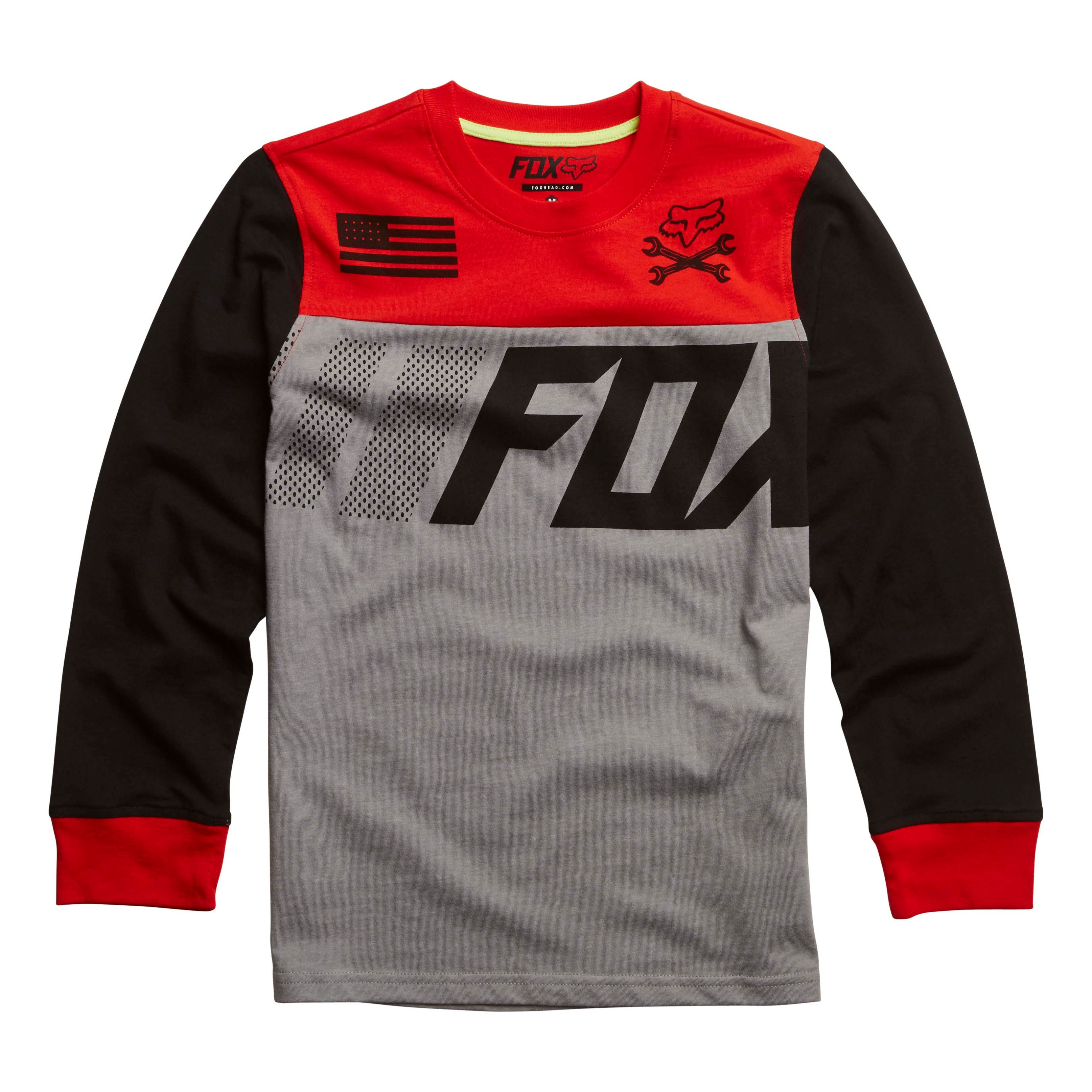 T-shirt Manches Longues Fox Youth Galva
