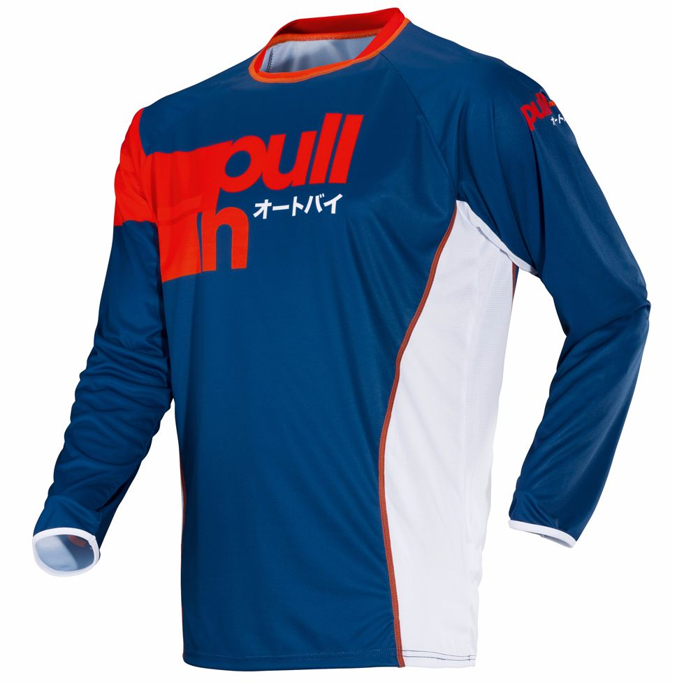 Maillot Cross Pull-in Race - Navy -