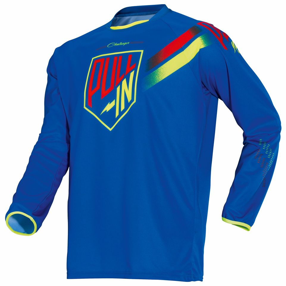 Maillot Cross Pull-in Challenger - Bleu -