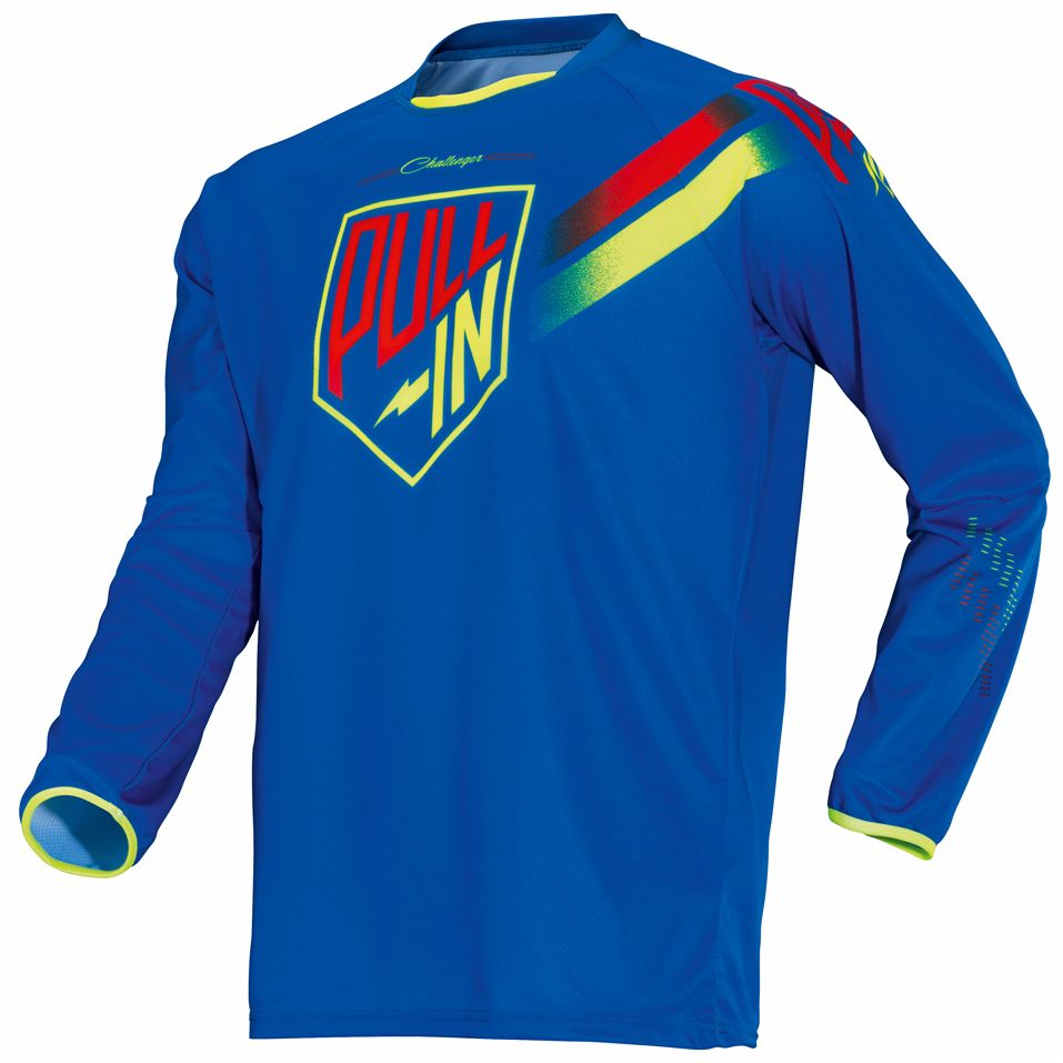 Maillot Cross Pull-in Challenger Kid - Bleu -
