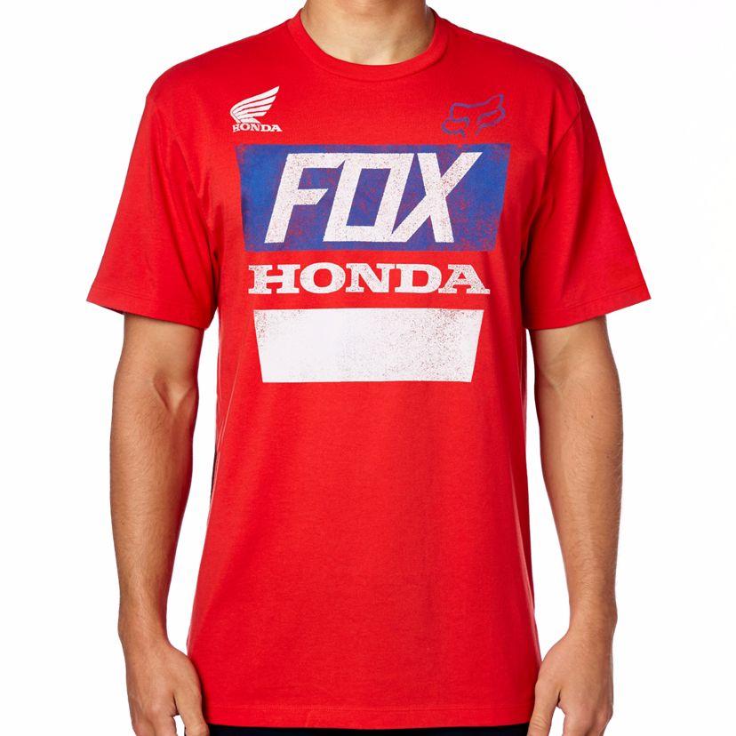 T-shirt Manches Courtes Fox Honda Basic - Hrc