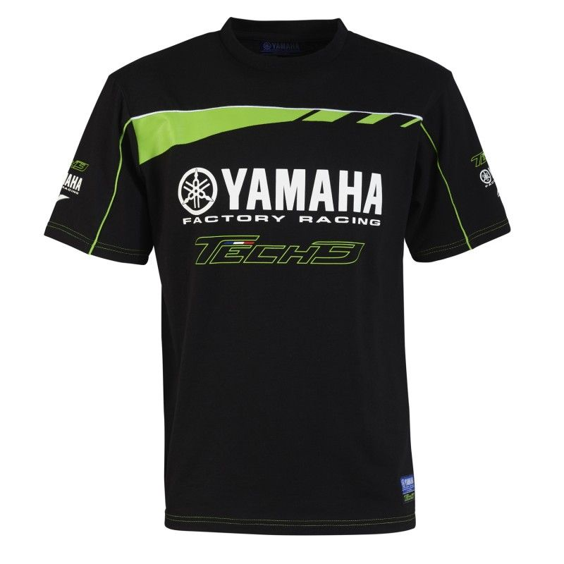 T-Shirt manches courtes Tech3 Monster KIDS CUSTOM - TECH3 MONSTER ENERGY - BLACK GREEN