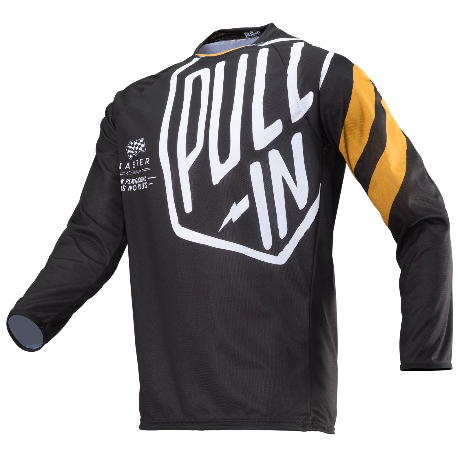 Maillot cross Pull-in MASTER BLACK GOLD 2019