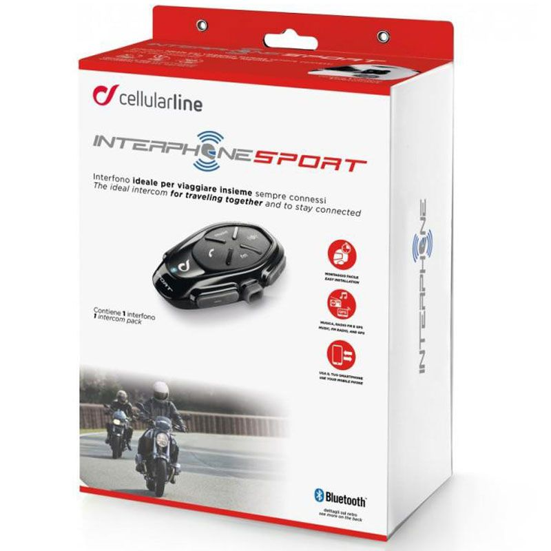 Intercom Cellular Line Sport Single Pack
